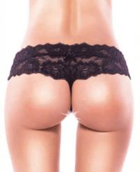 смотреть фото трусики с доступом, черные 54-56 производитель Eroticon