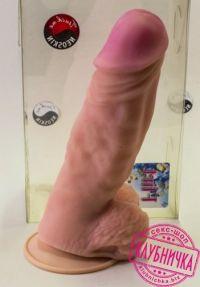 смотреть фото фаллоимитатор гигант neoskin 25х6,7 см. производитель LoveToy