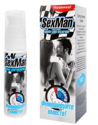 Продлевающий крем для мужчин SexMan