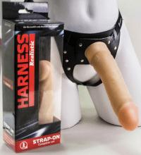 Страпон Harness ПВХ 20,5х4,2 см