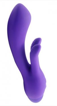 Вибратор INDULGENCE Frolic Bunny purple