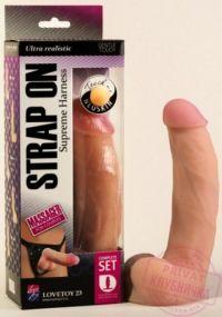 Страпон Harness NeoSkin 20х4,5 см