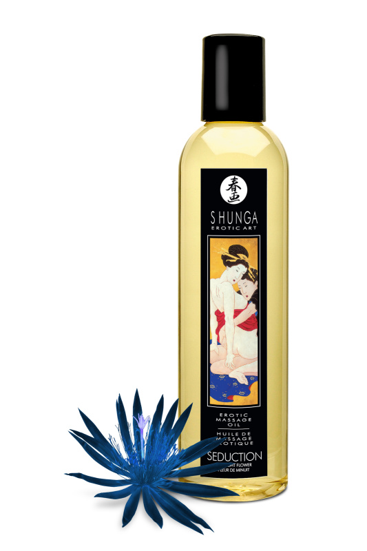 массажное масло shunga полуночный цветок, возбуждающее, натуральное, 250 мл, tfa-1019 TFA-1019