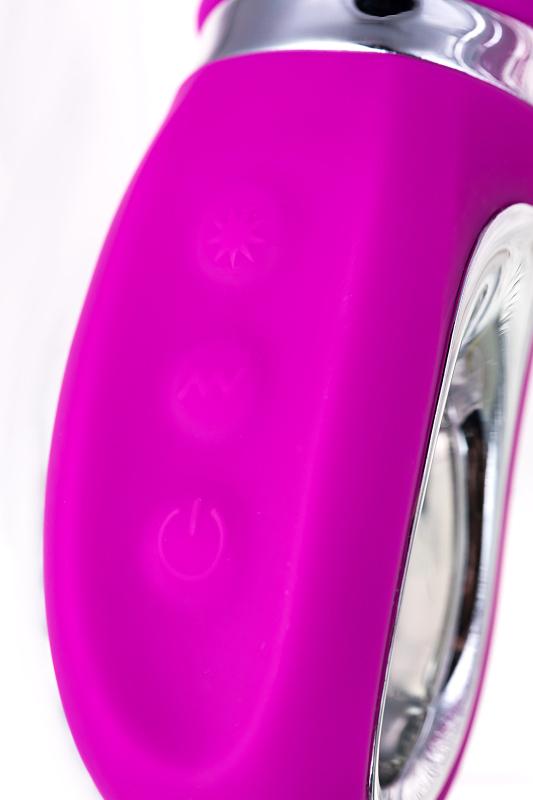 вибратор с клиторальным стимулятором jos joly, с wow-режимом, силикон, фуксия, 19,6 см, tfa-783005 TFA-783005