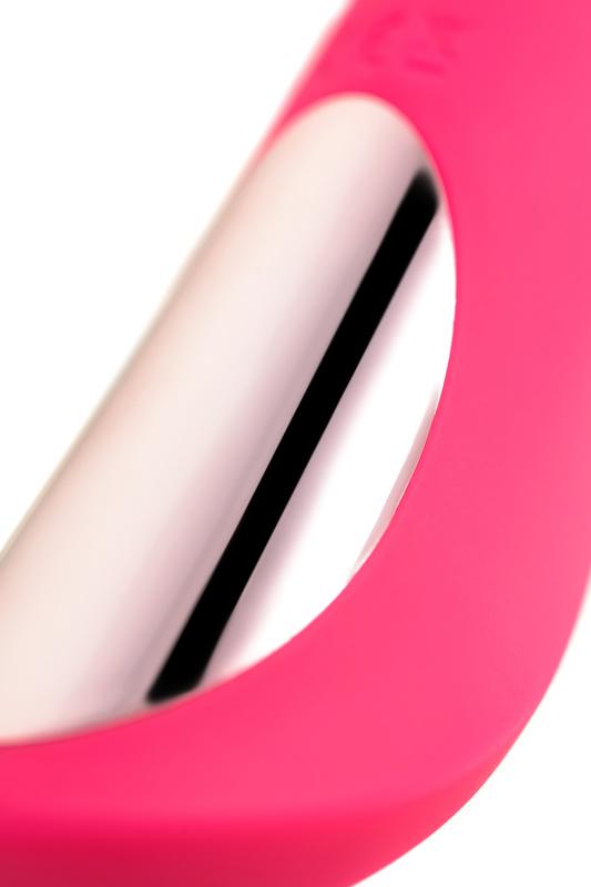 нереалистичный вибратор jos twig, 5 режимов вибрации, силикон, розовый, 20,5 см, ø 3,4 см, tfa-783032 TFA-783032