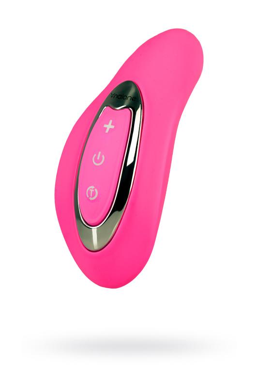 Вибромассажер, стимулятор клитора Nalone Curve, розовый силикон, TFA-VS-VR17