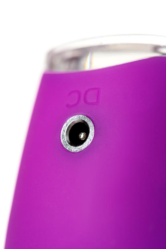 клиторальный стимулятор с ресничками jos alicia, силикон, фиолетовый, 15,5 см, tfa-783019 TFA-783019