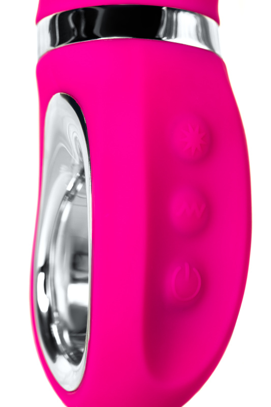 вибратор jos pilo с wow-режимом, силикон, розовый, 20 см, tfa-783004 TFA-783004