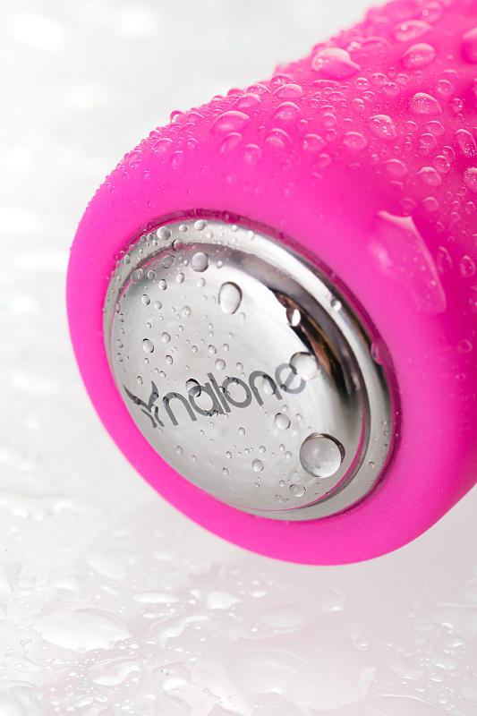 мини вибратор nalone ian, силикон, розовый, 11 см TFA-CS-BO12