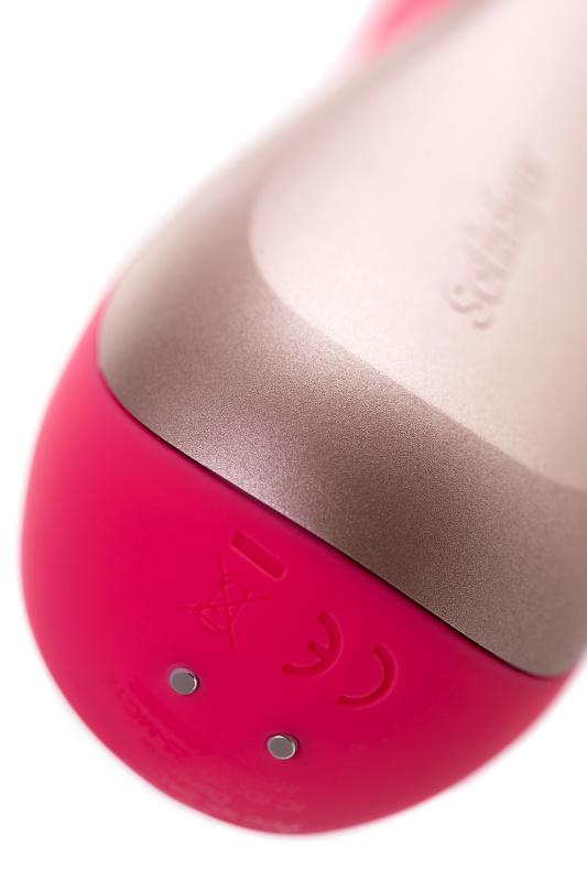 нереалистичный вибратор satisfyer mono flex, силикон, красный, 20,4 см, tfa-j2018-87-1 TFA-J2018-87-1