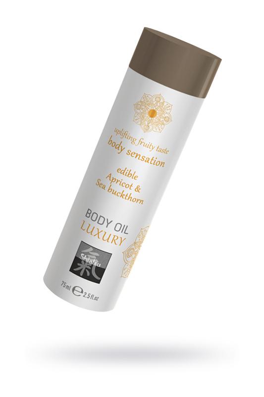 Съедобное масло для тела - Абрикос и Облепиха, 75мл., TFA-67023