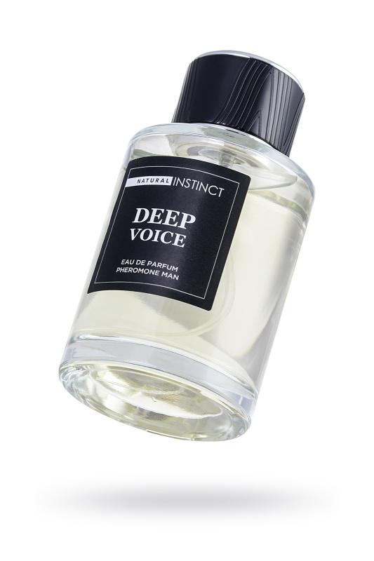 Парфюмерная вода с феромонами Natural Instinct ''Deep Voice'' мужская 100 мл, TFA-5701