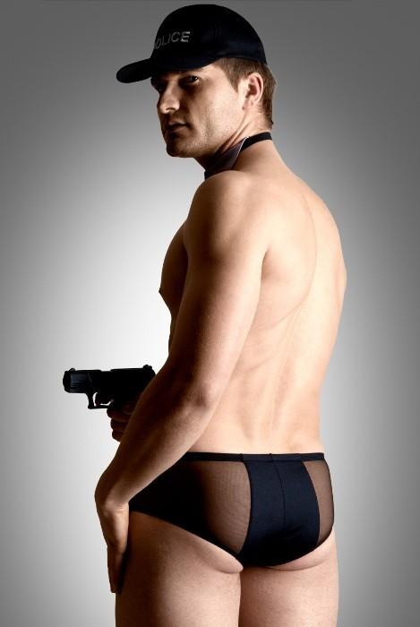 policeman set - костюм полицейского мужской (шорты, галстук, кепка)-m/l TFA-460217