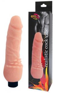 вибратор realistic cock vibe 19х3,5 см.