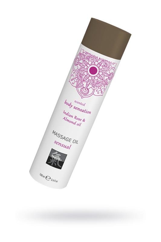 массажное масло sensual - индийская роза и масло миндаля, 100 мл., tfa-67003 TFA-67003