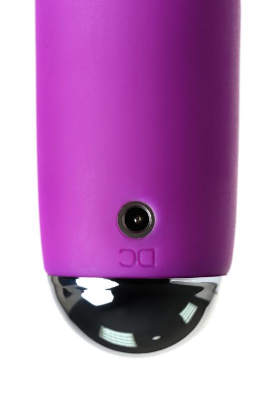 вибратор-ротатор с ресничками для двойной стимуляции jos anita, силикон, розовый, 20,5 см, tfa-783018 TFA-783018