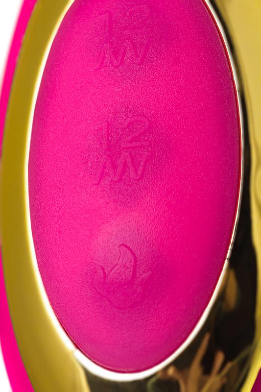 вибратор с подогревом для двойной стимуляции jos nega, силикон, розовый, 22 см, tfa-783021 TFA-783021