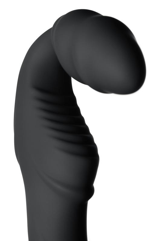 безремневой страпон black & red by toyfa с вибрацией, влагостойкий, силикон, чёрный, 35 см, tfa-901408-5 TFA-901408-5