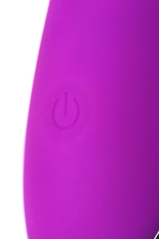 вибратор с ресничками jos desi, силикон, фиолетовый, 18,5 см, tfa-783017 TFA-783017