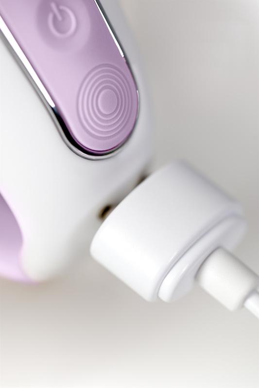 нереалистичный вибратор satisfyer vibes charming smile, силикон, фиолетовый, 18,7 см, tfa-ee73-827-1017 TFA-EE73-827-1017
