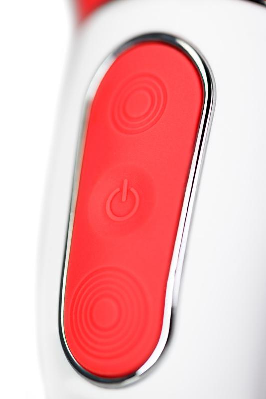 нереалистичный вибратор satisfyer vibes power flower, силикон, красный, 18,8 см, tfa-ee73-837-0418 TFA-EE73-837-0418