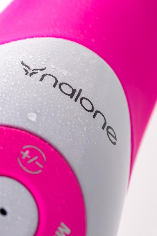 вибратор nalone pulse, голосовой, силиконовый, розовый, 21см TFA-VS-VR18