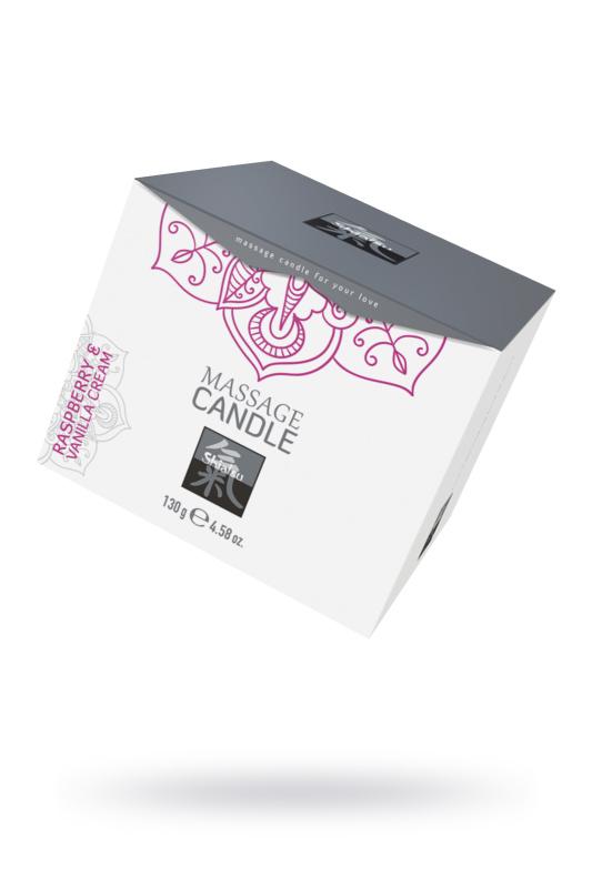 Массажная свечка с Малиной и Ванильным кремом, 130 мл, TFA-67121
