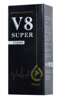 продлевающий секс спрей v 8 super V-8-SUPER