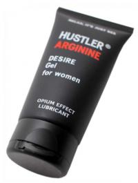 гель-смазка hustler arginine водно-силиконовая, стимулирующая, 75 мл XM-37103