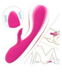 Вибратор S-HANDE Instinct 17,5 см., розовый, магнитная зарядка